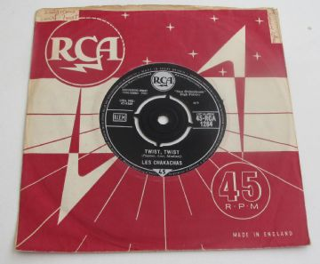 "Chakachas (Les) TWIST TWIST 1961 UK 7"" EX+AUDIO"